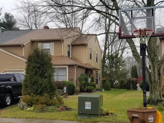 Morrisville, PA - Replace existing roof with new CertainTeed Landmark shingles, flashings, underlayments and ridge-vent