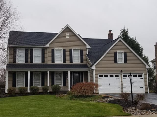 Yardley, PA - Complete roof replacement- replace existing roof with new CertainTeed Landmark shingles, waterproof underlayment, flashings and ridge-vent. Color; Charcoal Black