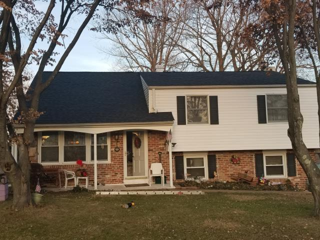 Phoenixville, PA - Roof Replacement, Replace existing roof with CertainTeed Landmark shingles color Charcoal Black. Install waterproof underlayment and ridge-vent