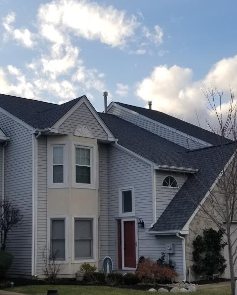 Newtown, PA - Replace existing roof with new CertainTeed Landmark shingles, new underlayments, flashings and ridge-vent. Replace FRT plywood. Color: Colonial Slate. Provide free estimate