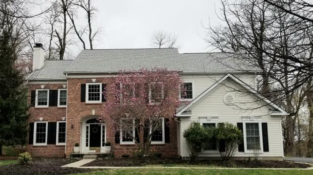 Phoenixville, PA - Residential Roof Replacement. Replace existing roof with new CertainTeed Landmark PRO shingles, new underlayment, new flashings and new Ridge-Vent. Clean up daily all roofing debris. Color; Cobblestone Roofing Contractor- Free Estimate  We Offer James Hardie Siding and Trim