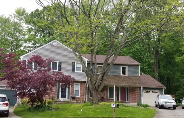 Yardley, PA - Residential Roof Replacement - Replace existing roof with new plywood , New CertainTeed Landmark  Shingles, New Underlayment, New Ridge - Vent and new flashings. Color; Burnt Sienna