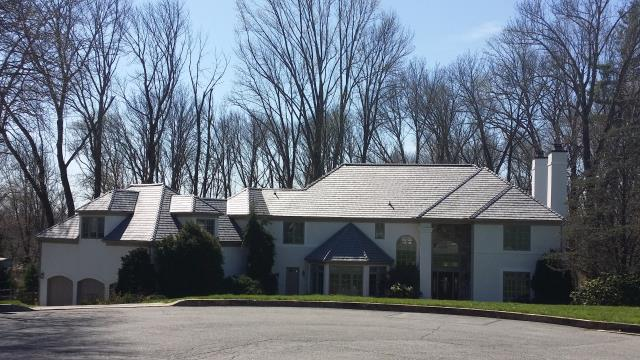 Media, PA - Replace existing cedar roof with new EnviroShake Cedar Shake imitation - Engineered Roofing. Install new plywood , waterproof underlayment and flashings. Roof area 7000 SF. Color Silvered Cedar  Residential Roofing Contractor Media PA 19063 James Hardie Siding Contractor Media PA 19063