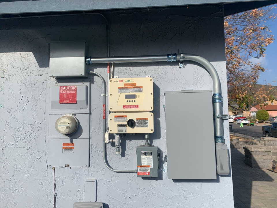 Fallbrook, CA - electrical panel upgrade
