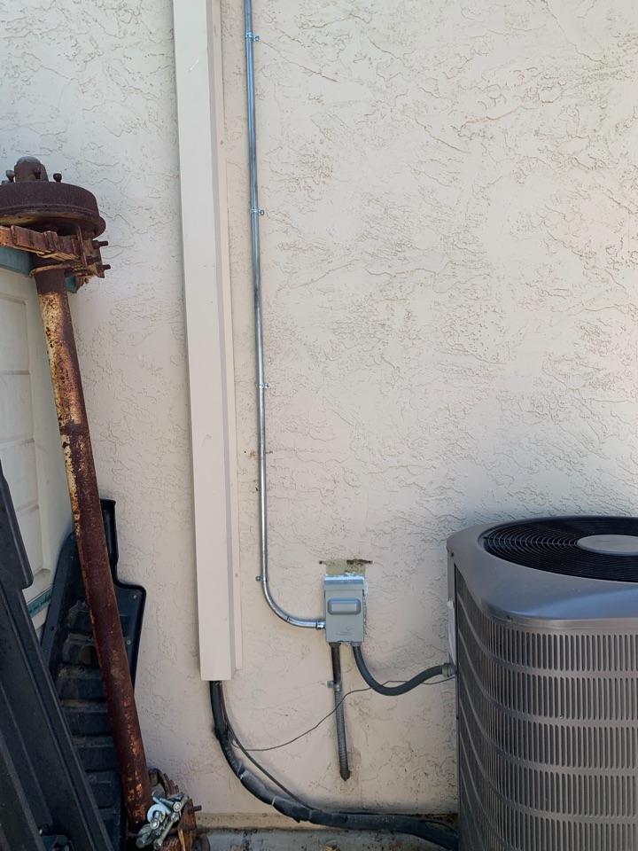 La Mesa, CA - Dedicated circuit for A/C