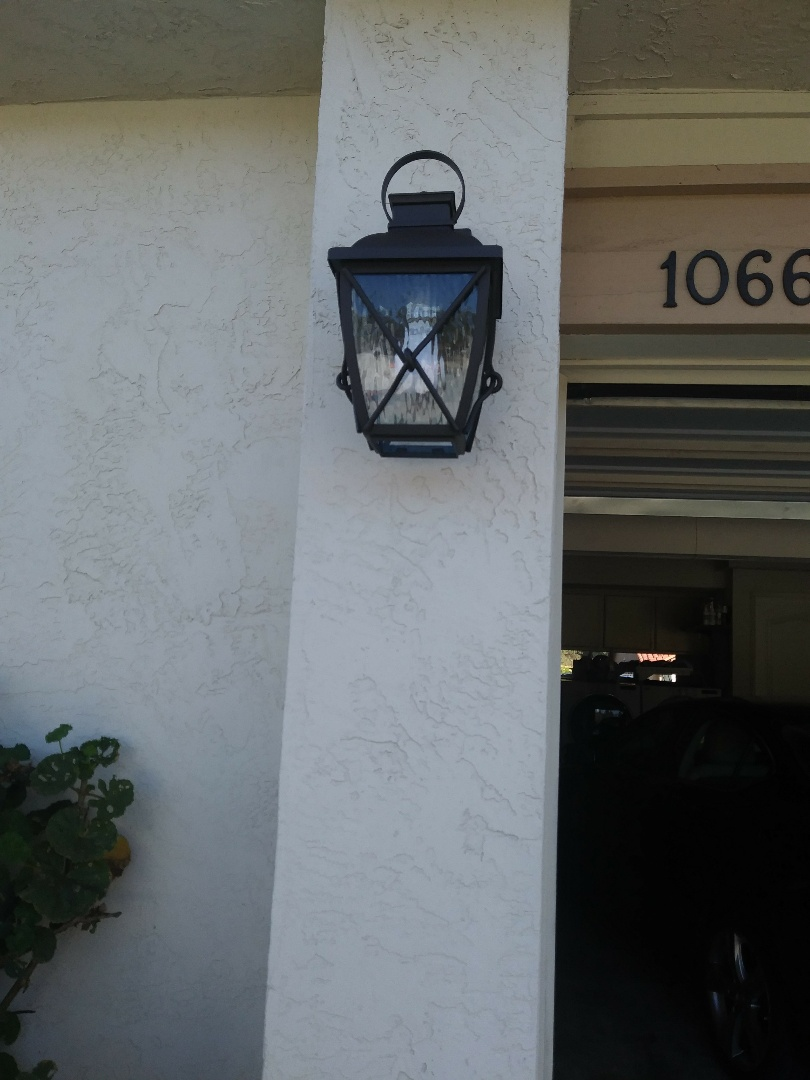 Bonita, CA - Install new light fixture