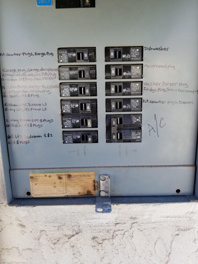 San Diego, CA - Electrical upgrades