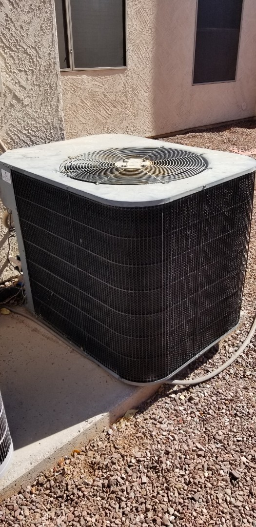 Gilbert, AZ - Repairing a York air conditioner