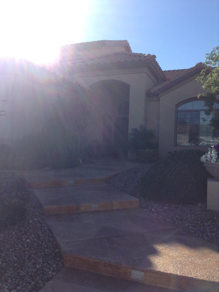 Goodyear, AZ - Conducting a whole home energy efficiency audit.