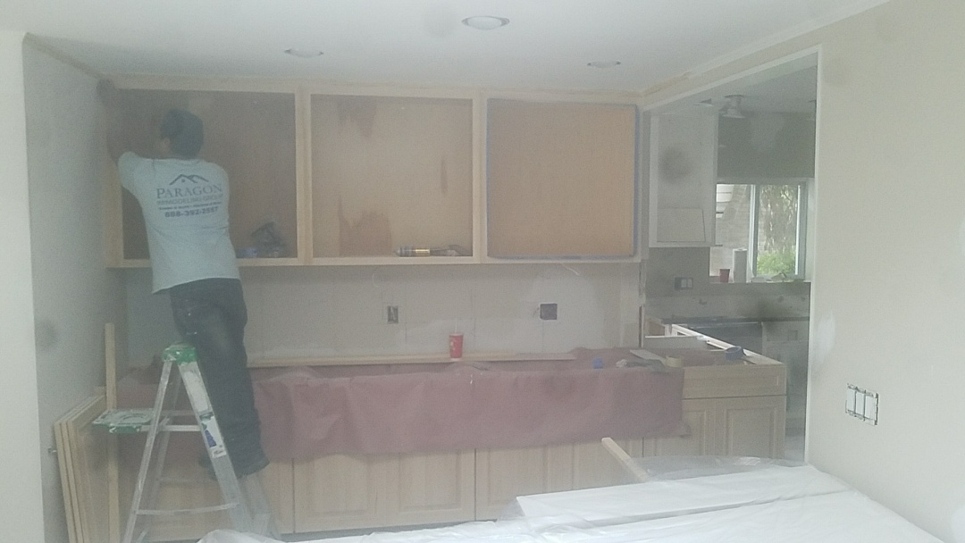 Remodeling Kitchen, Interior Painting