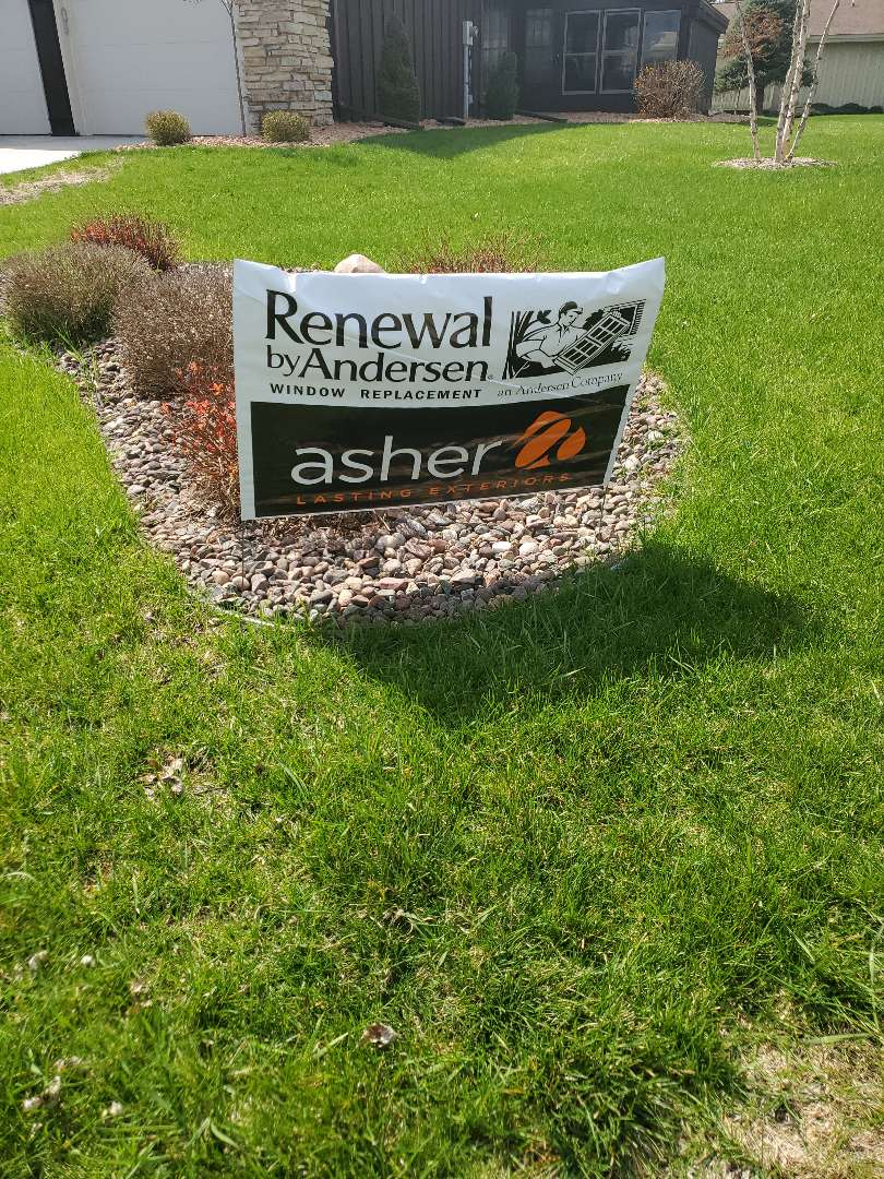 "Eau Claire, WI - Just checked in on another completed window install in Chippewa Falls, WI by Renewal by Andersen.  Another ""delighted"" customer!!"