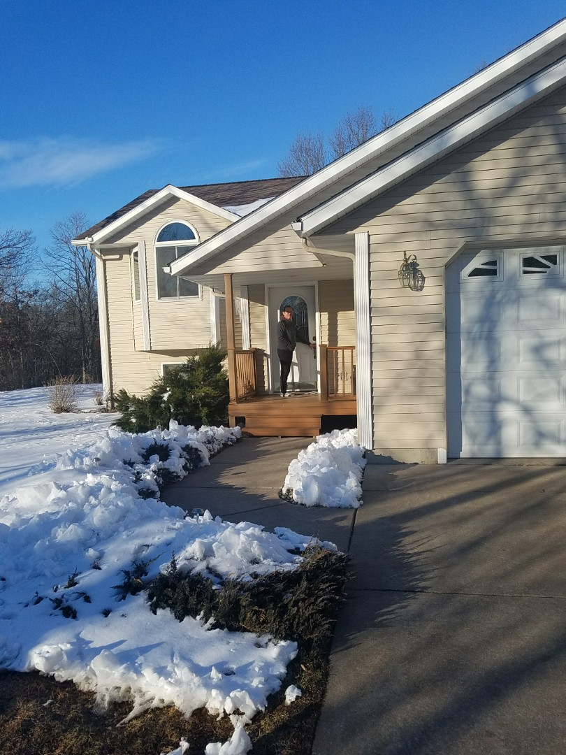 Elk Mound, WI - Asher just finished installing Renewal by Andersen windows!