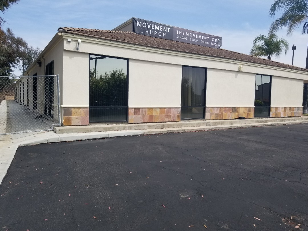 San Marcos, CA - Just finished up a walk through on a commercial strip mall that is having some settlement signs and symptoms.