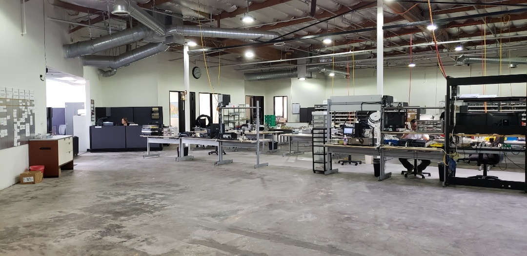 Laguna Niguel, CA - Manufacturing assembly plant  job walk for concrete flooring coating application.