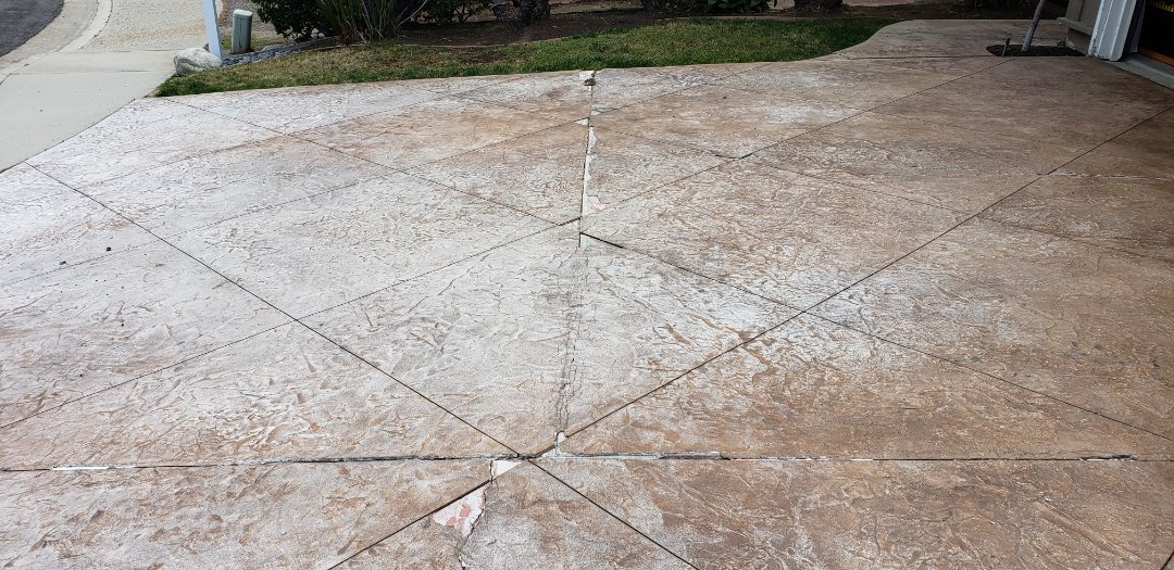 Mission Viejo, CA - Concrete Driveway remove and replace.