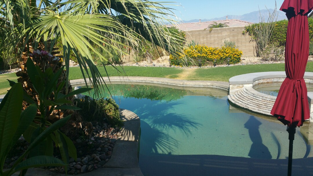 Indio, CA - Remove and replacing pool deck