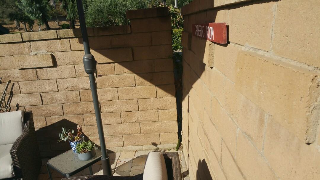 Laguna Hills, CA - Retaining wall repair