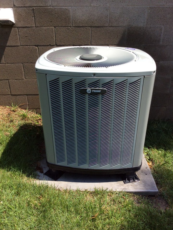Webb's 25pt Annual Fall Maintenance on a Trane Heat Pump System.