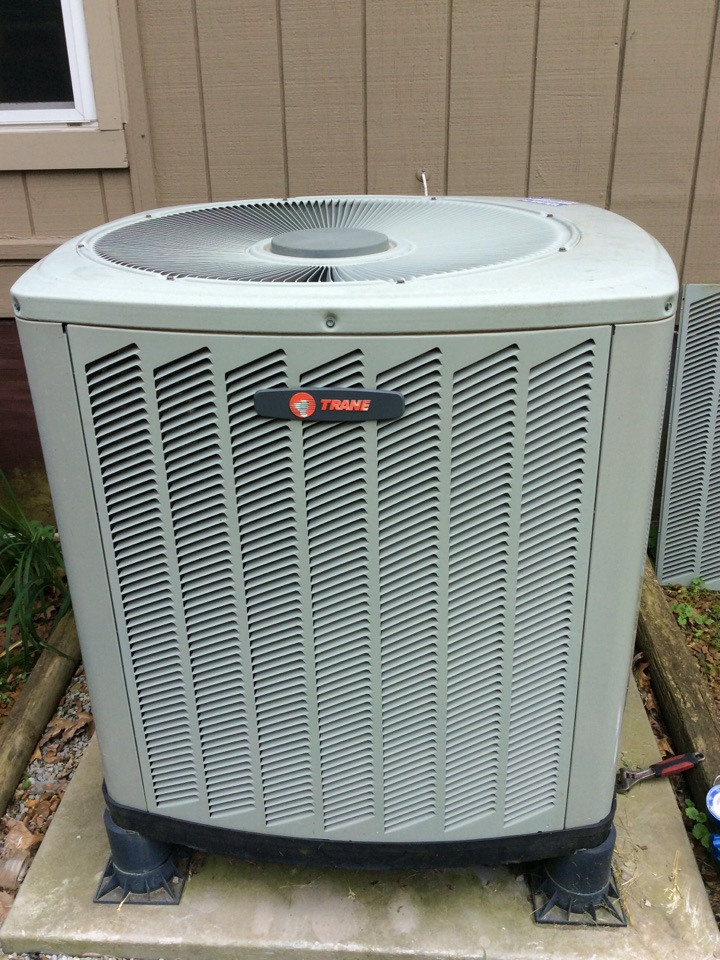 Webb's 25pt Annual Fall Maintenance on a Trane XR Heat pump system.