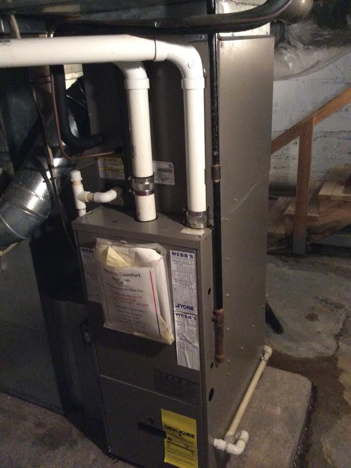 Repairing York gas furnace