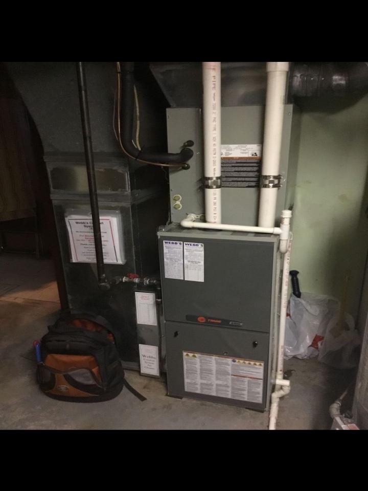 Herrin, IL - Repairing Trane gas furnace