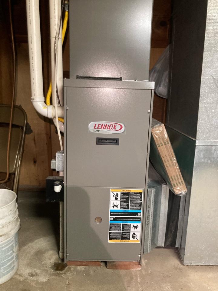 Repairing a Lennox gas furnace