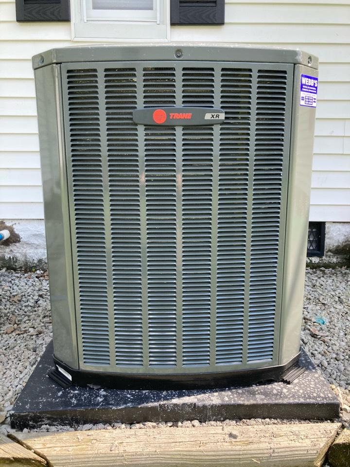 Installing a Trane air conditioner