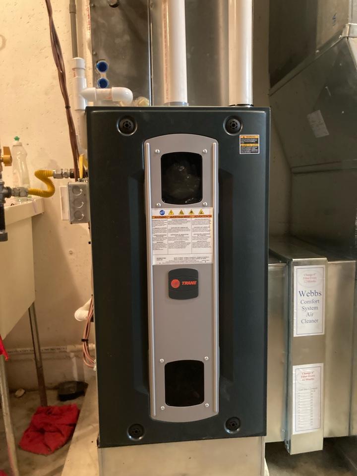 Installing a Trane hybrid system