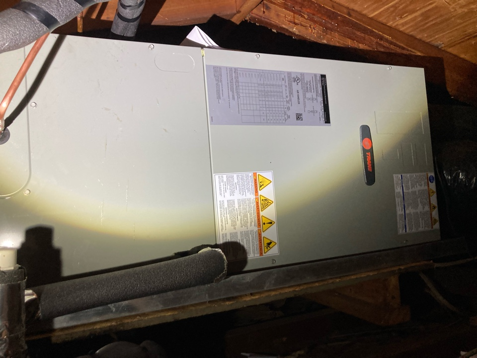 Carbondale, IL - Installing a new Trane air handler