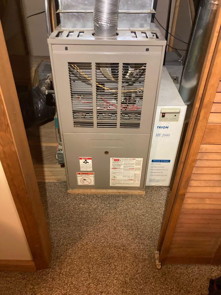 Diagnostic on a gas furnace