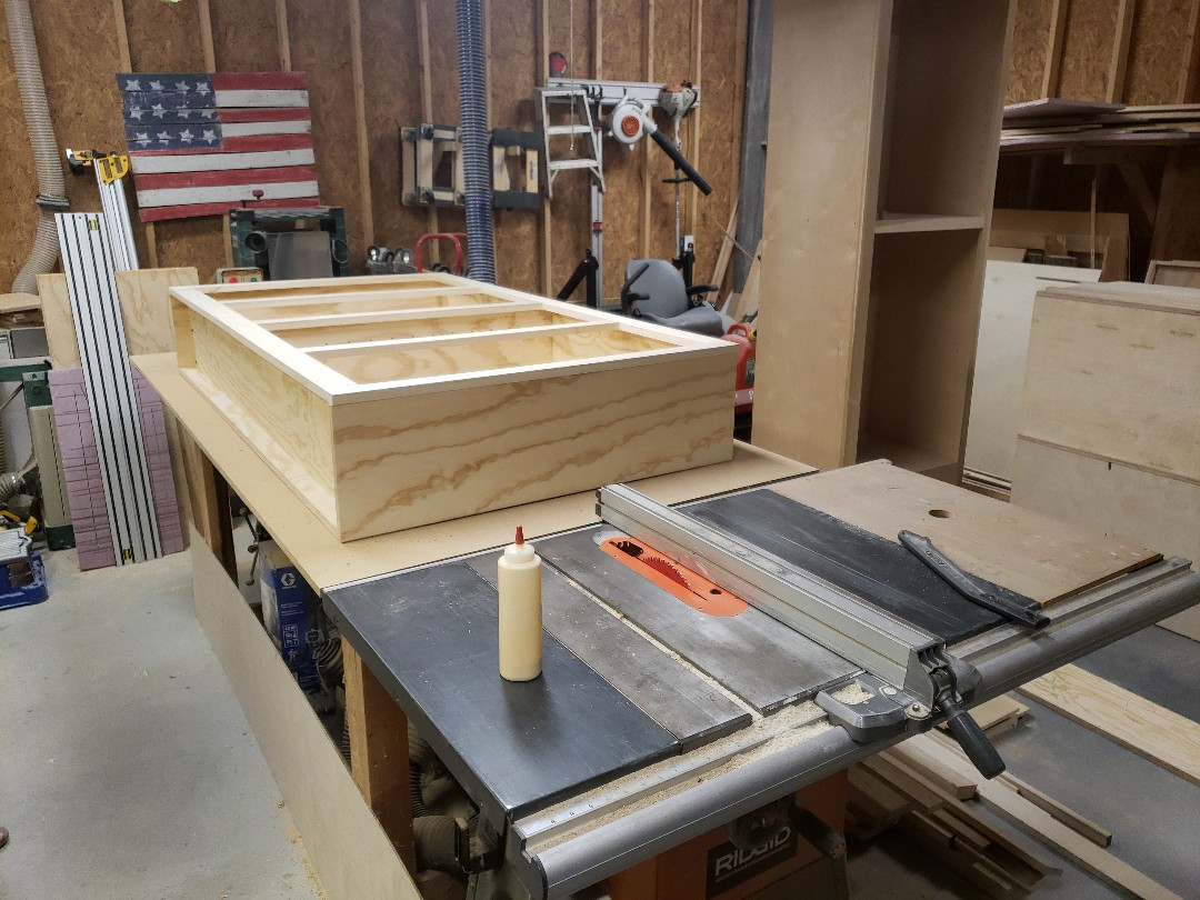 Building custom cabinets