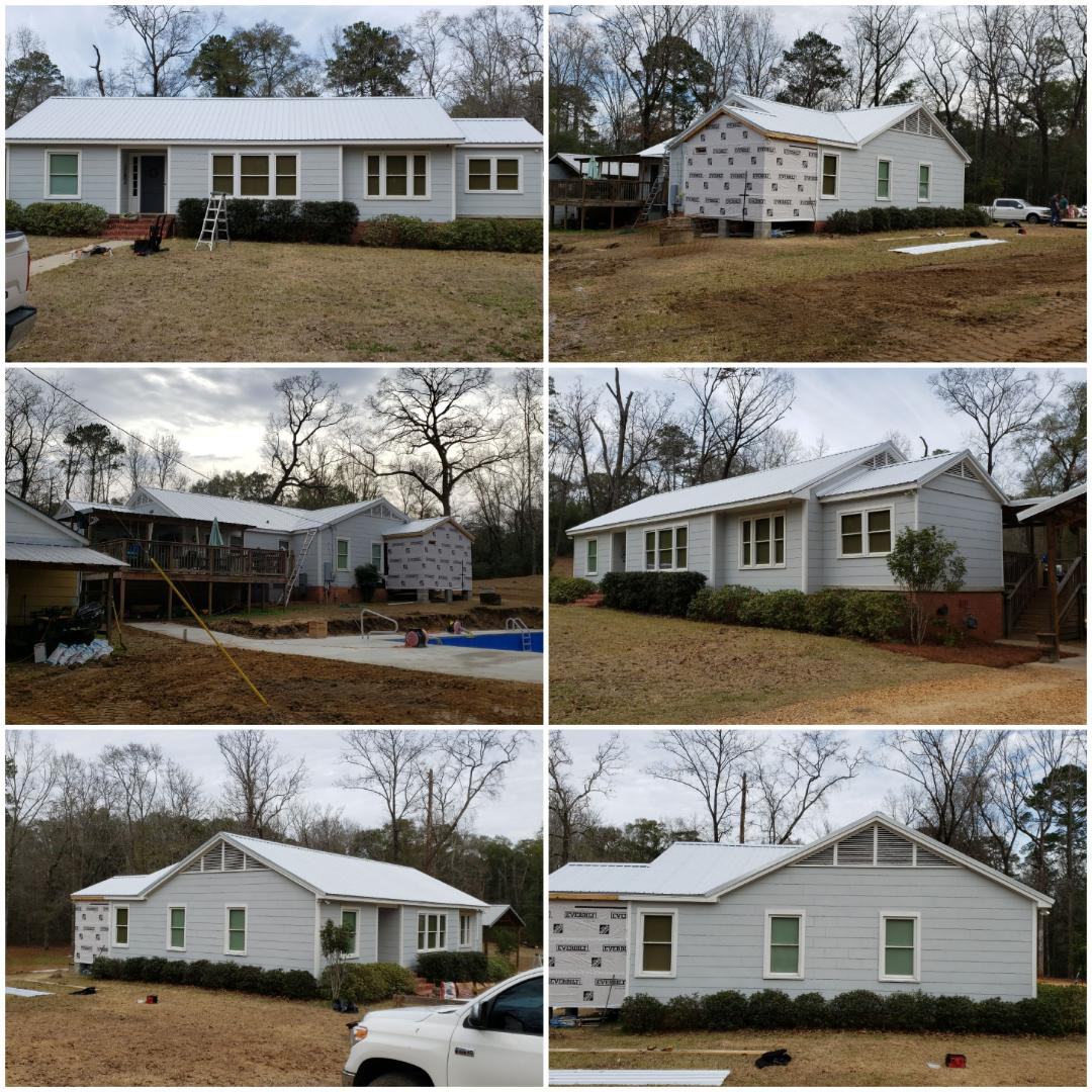 Millbrook, AL - New metal roof done!