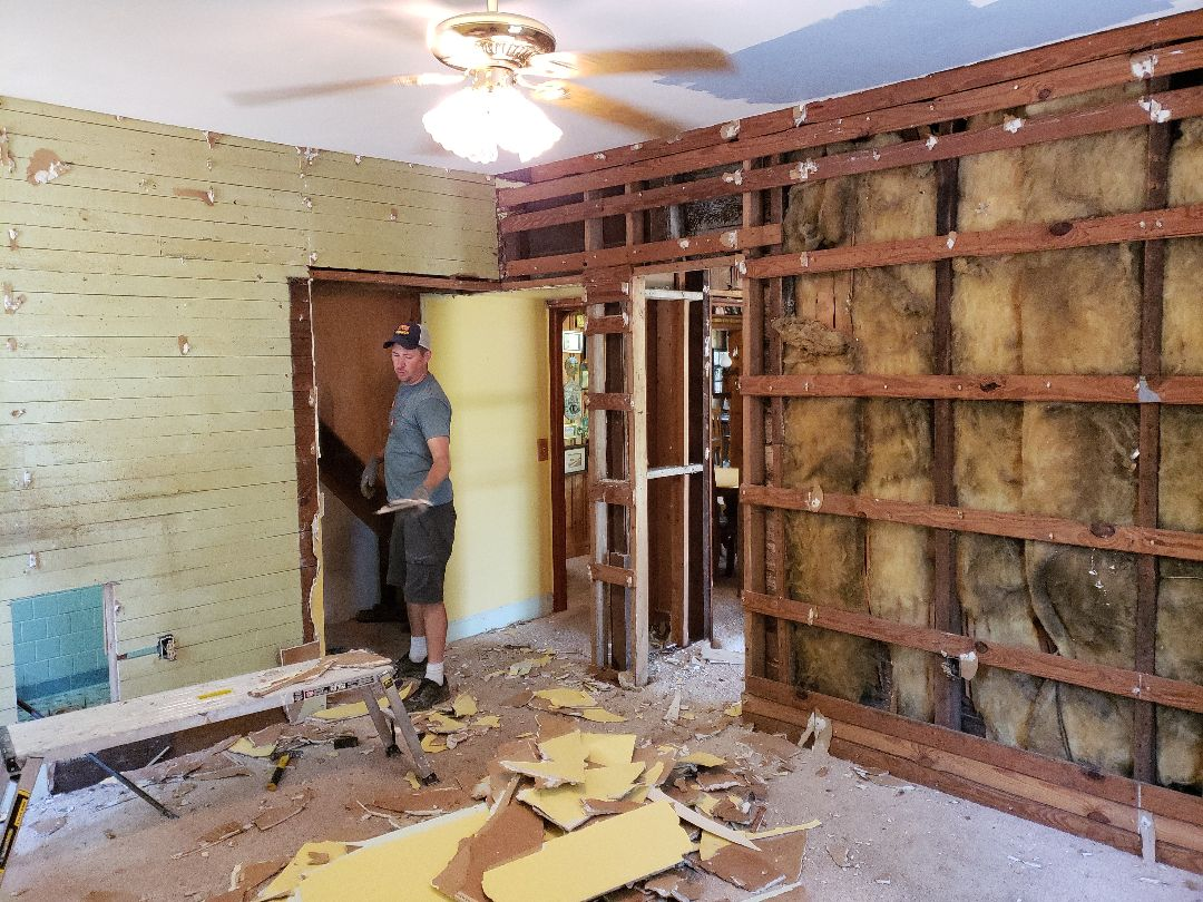 Load bearing wall removal in old farm house