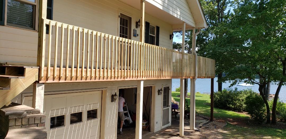 Dadeville, AL - Side railing