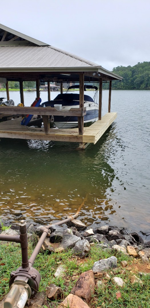 Dadeville, AL - Dock extension done and ready for bumpers