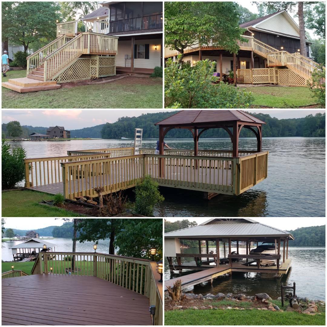 Dadeville, AL - Deck/Dock remodel finish
