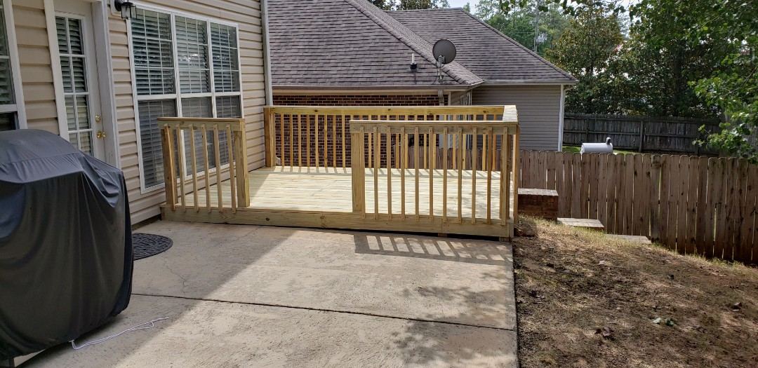 Pelham, AL - Quick deck job!