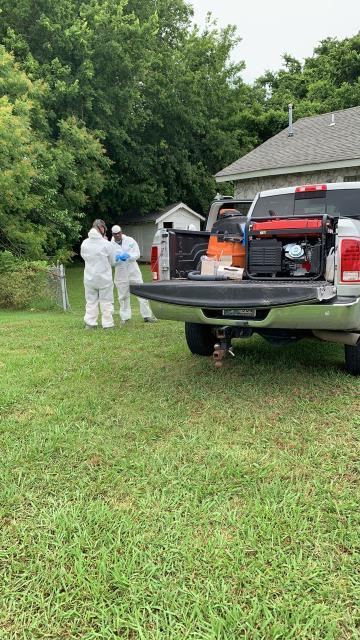 Muskogee, OK - Water damage clean up