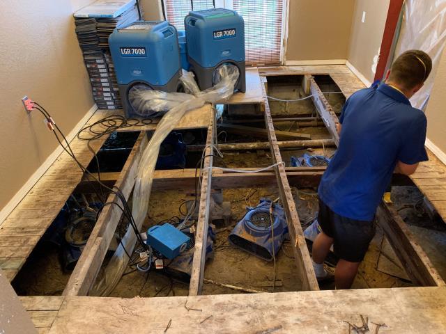 Muskogee, OK - Water damage restoration