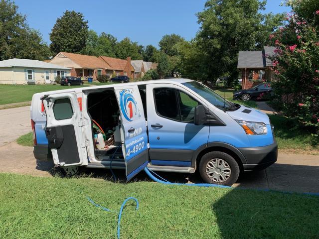 Extensive residential  water damage job.