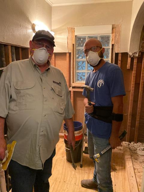Tulsa, OK - Reconstruction services following partial demolition of garage, hot water closet, and floors.