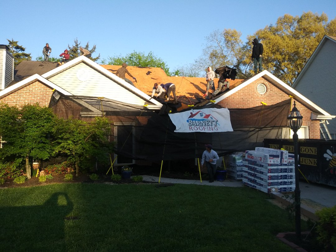 Knoxville, TN - Karns Tn new roof going up today