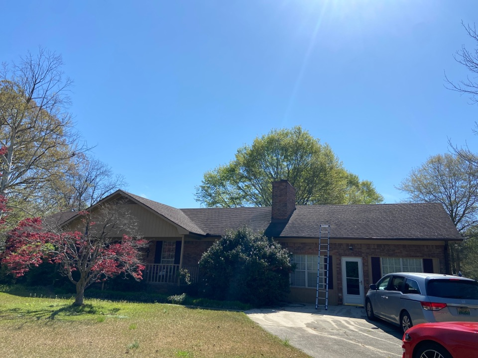 Fultondale, AL - Another roof bought in Fultondale this morning by insurance due to wind and hail damage. Call Elevated Roofing the  #1 roofing company in the Birmingham area for a free roof inspection