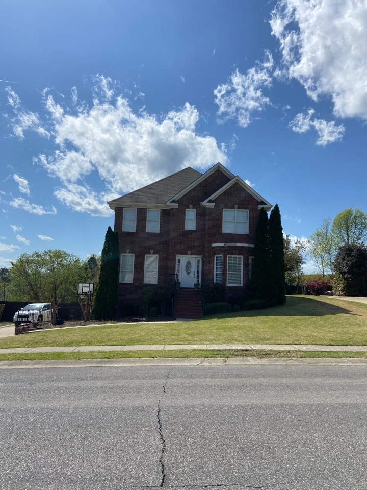 Trussville, AL - Elevated roofing is out working hard today for our customers. Insurance just paid for another full roof replacement due to storm damage. Call us Gardendale.