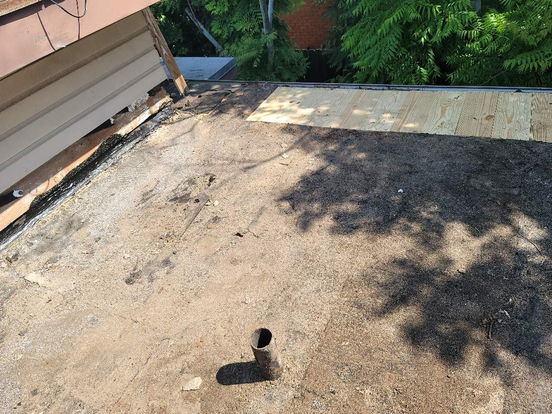 Corpus Christi, TX - Re roof for flat and shingles.