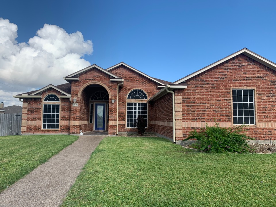 Corpus Christi, TX - Roof Inspection Complete!  Customer has a leak that has caused decking damage. We will repair decking, reflash area that is causing leak, and re install shingles.