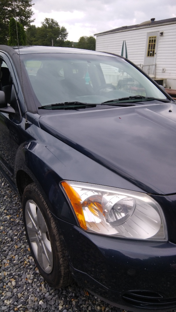 Brodheadsville, PA - Windshield replacement on 2007 Caliber