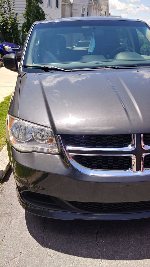 Lansford, PA - Replaced windshield on Dodge Grand Caravan for a customer at her home