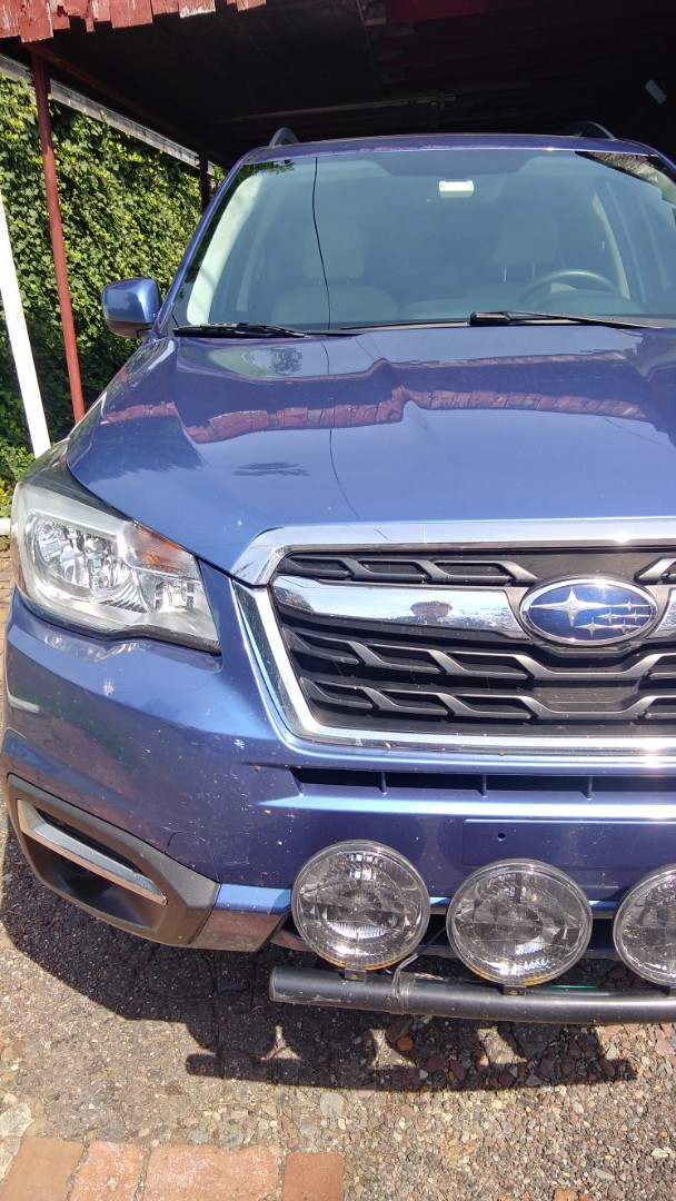 Replaced windshield on Subaru Forester for a customer at his home
