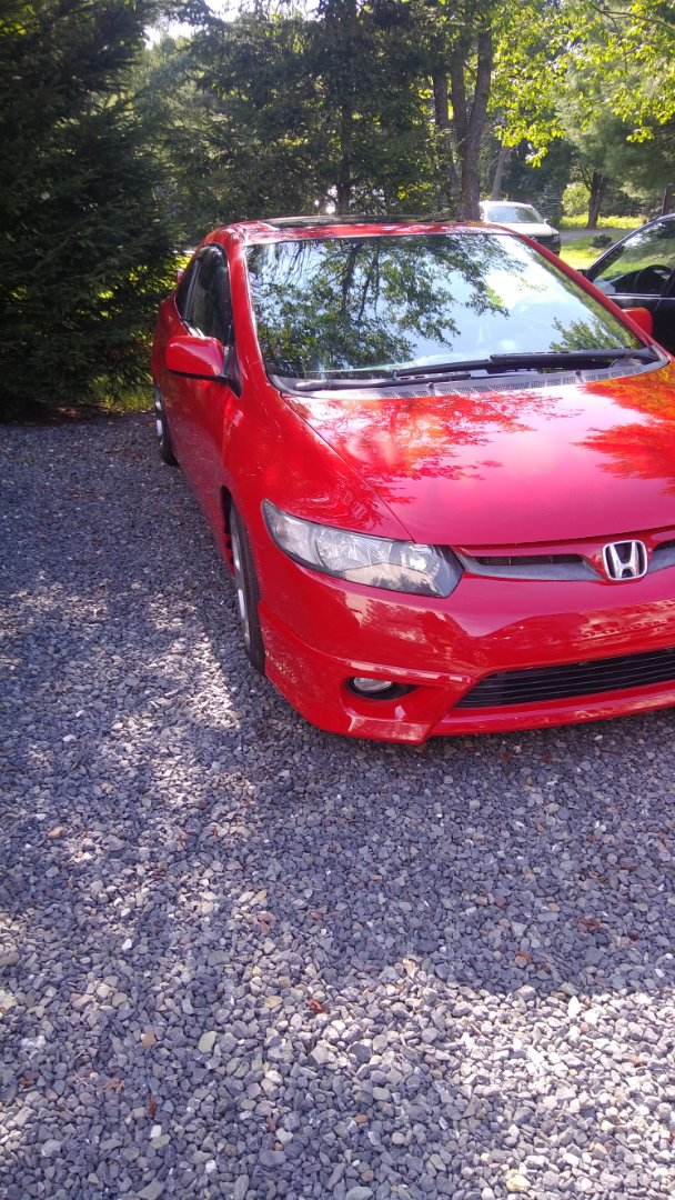 Jim Thorpe, PA - Replaced windshield on Honda Civic for a customer at her home